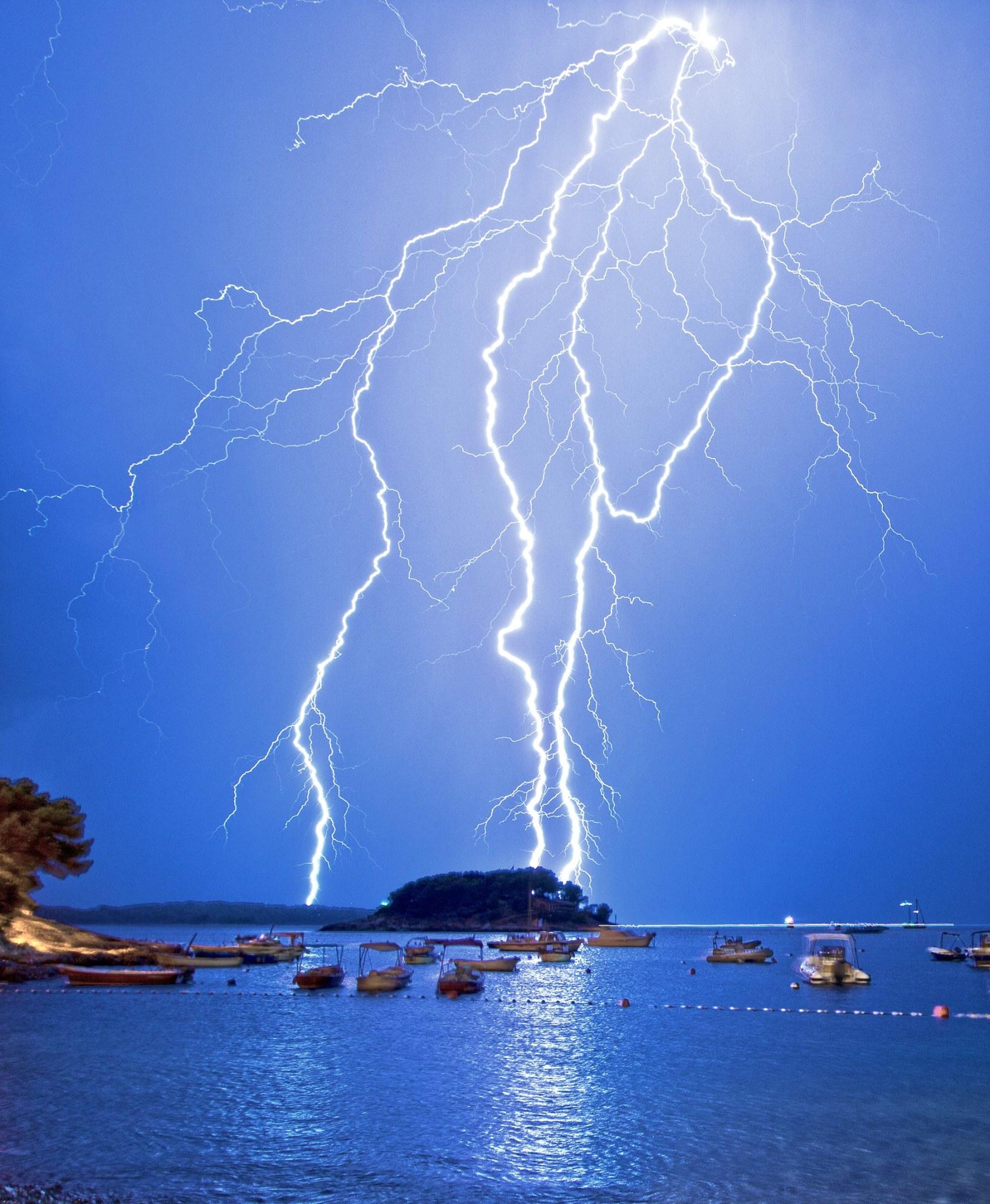Thunder storm Hvar